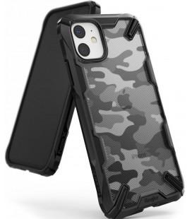 """Juodas (Camo) dėklas Apple iPhone 11 telefonui """"Ringke Fusion X"""""""