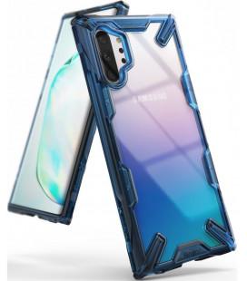 """Mėlynas dėklas Samsung Galaxy Note 10 Plus telefonui """"Ringke Fusion X"""""""