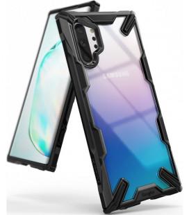 """Juodas dėklas Samsung Galaxy Note 10 Plus telefonui """"Ringke Fusion X"""""""