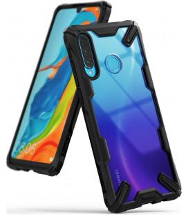 """Juodas dėklas Huawei P30 Lite telefonui """"Ringke Fusion X"""""""