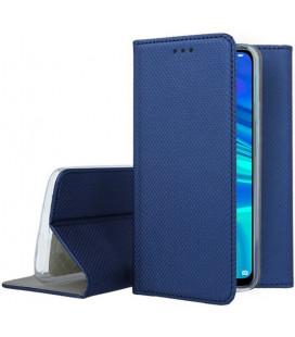 """Mėlynas atverčiamas dėklas Huawei P Smart 2019 telefonui """"Smart Book Magnet"""""""
