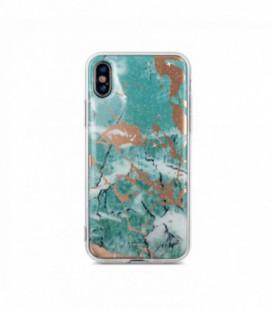 Dėklas Marmur Samsung A515 A51 žalias