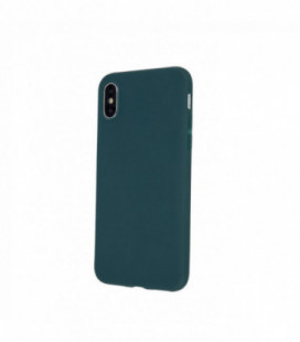 Dėklas Rubber TPU Samsung A515 A51 tamsiai žalias