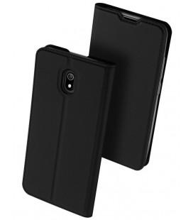 """Juodas atverčiamas dėklas Xiaomi Redmi 8A telefonui """"Dux Ducis Skin Pro"""""""