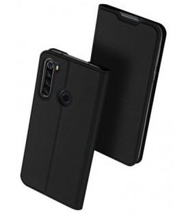 """Juodas atverčiamas dėklas Xiaomi Redmi Note 8T telefonui """"Dux Ducis Skin Pro"""""""