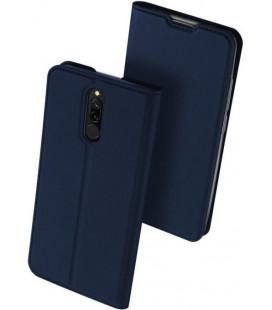 """Mėlynas atverčiamas dėklas Xiaomi Redmi 8 telefonui """"Dux Ducis Skin Pro"""""""