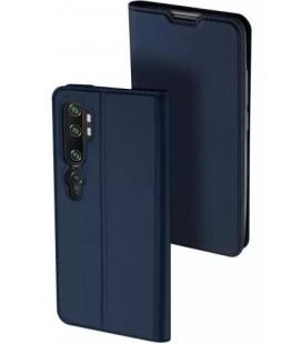 """Mėlynas atverčiamas dėklas Xiaomi Mi Note 10 / Note 10 Pro telefonui """"Dux Ducis Skin Pro"""""""