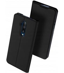 """Juodas atverčiamas dėklas Oneplus 7T Pro telefonui """"Dux Ducis Skin Pro"""""""