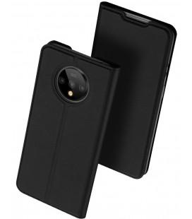 """Juodas atverčiamas dėklas Oneplus 7T telefonui """"Dux Ducis Skin Pro"""""""