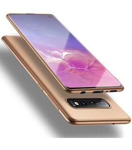 """Auksinės spalvos dėklas Samsung Galaxy S10 telefonui """"X-Level Guardian"""""""