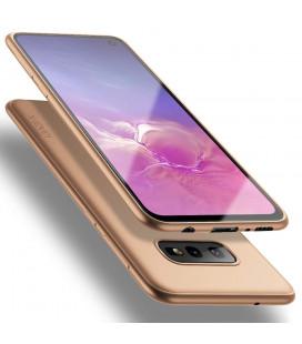 """Auksinės spalvos dėklas Samsung Galaxy S10E telefonui """"X-Level Guardian"""""""