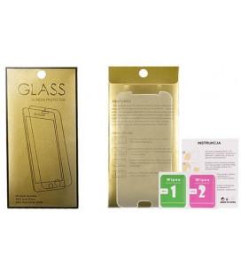 """Apsauginis grūdintas stiklas Samsung Galaxy A51 telefonui """"GOLD"""""""