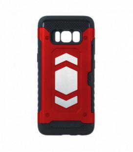 Dėklas Defender Magnetic Samsung G957 S10 Plus raudonas
