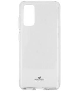 """Skaidrus silikoninis dėklas Samsung Galaxy S20 Plus telefonui """"Mercury Goospery Pearl Jelly Case"""""""