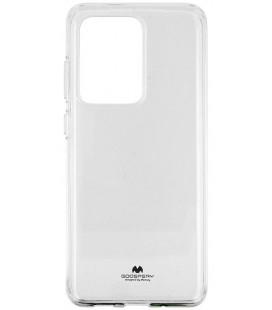 """Skaidrus silikoninis dėklas Samsung Galaxy S20 Ultra telefonui """"Mercury Goospery Pearl Jelly Case"""""""