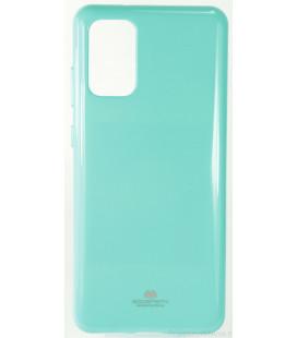 """Mėtos spalvos silikoninis dėklas Samsung Galaxy S20 Plus telefonui """"Mercury Goospery Pearl Jelly Case"""""""