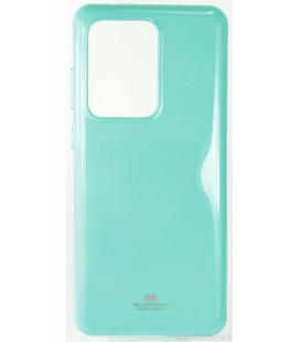 """Mėtos spalvos silikoninis dėklas Samsung Galaxy S20 Ultra telefonui """"Mercury Goospery Pearl Jelly Case"""""""
