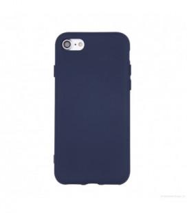 Dėklas Rubber TPU Samsung S10 Lite/A91 tamsiai mėlynas
