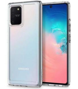 "Skaidrus dėklas Samsung Galaxy S10 Lite telefonui ""Spigen Ultra Hybrid"""