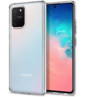 "Skaidrus dėklas Samsung Galaxy S10 Lite telefonui ""Spigen Liquid Crystal"""