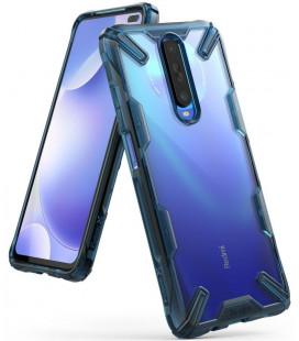 "Mėlynas dėklas Xiaomi Mi 10T telefonui ""Ringke Fusion X"""