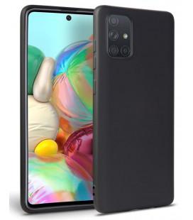 """Juodas dėklas Samsung Galaxy A71 telefonui """"Tech-protect Icon"""""""