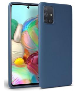"Mėlynas dėklas Samsung Galaxy A71 telefonui ""Tech-protect Icon"""