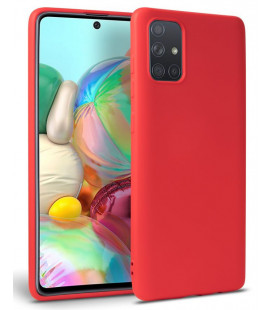 """Raudonas dėklas Samsung Galaxy A71 telefonui """"Tech-protect Icon"""""""