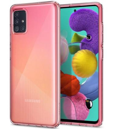 "Skaidrus dėklas Samsung Galaxy A71 telefonui ""Spigen Liquid Crystal"""