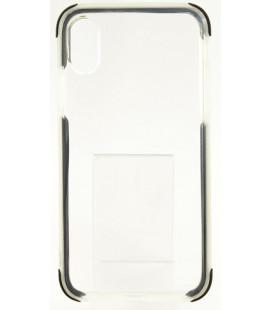 """Juodas silikoninis dėklas Apple iPhone X telefonui """"Summer Case"""""""