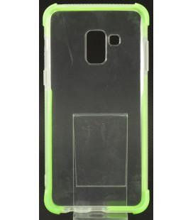 """Žalias silikoninis dėklas Samsung Galaxy A8 A2018 telefonui """"Summer Case"""""""