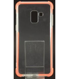 """Oranžinis silikoninis dėklas Samsung Galaxy A8 2018 telefonui """"Summer Case"""""""