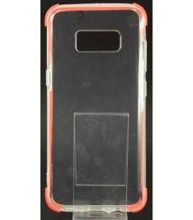 """Oranžinis silikoninis dėklas Samsung Galaxy S8 telefonui """"Summer Case"""""""