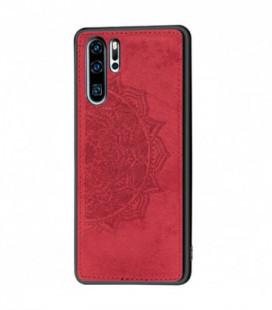 Dėklas Mandala Samsung A715 A71 raudonas