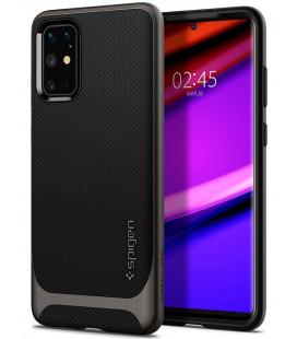 """Pilkas dėklas Samsung Galaxy S20 Plus telefonui """"Spigen Neo Hybrid"""""""