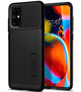 """Juodas dėklas Samsung Galaxy S20 Plus telefonui """"Spigen Slim Armor"""""""