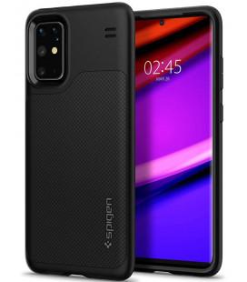 """Juodas dėklas Samsung Galaxy S20 Plus telefonui """"Spigen Hybrid NX"""""""