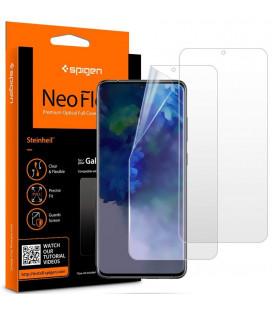 "Apsauginės ekrano plėvelės Samsung Galaxy S20 Plus telefonui ""Spigen Neo Flex HD"""
