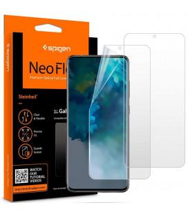 """Apsauginės ekrano plėvelės Samsung Galaxy S20 telefonui """"Spigen Neo Flex HD"""""""