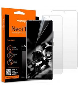 """Apsauginės ekrano plėvelės Samsung Galaxy S20 Ultra telefonui """"Spigen Neo Flex HD"""""""