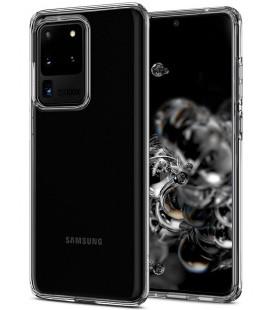 "Skaidrus dėklas Samsung Galaxy S20 Ultra telefonui ""Spigen Liquid Crystal"""