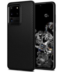 "Juodas dėklas Samsung Galaxy S20 Ultra telefonui ""Spigen Liquid Air"""