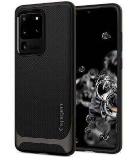 "Pilkas dėklas Samsung Galaxy S20 Ultra telefonui ""Spigen Neo Hybrid"""
