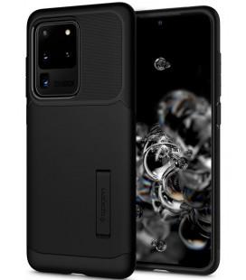 "Juodas dėklas Samsung Galaxy S20 Ultra telefonui ""Spigen Slim Armor"""