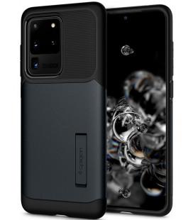 "Pilkas dėklas Samsung Galaxy S20 Ultra telefonui ""Spigen Slim Armor"""