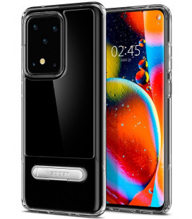"Skaidrus dėklas Samsung Galaxy S20 Ultra telefonui ""Spigen Slim Armor Essential S"""