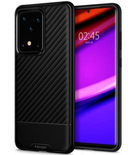 "Juodas dėklas Samsung Galaxy S20 Ultra telefonui ""Spigen Core Armor"""