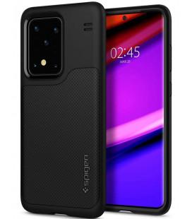 "Juodas dėklas Samsung Galaxy S20 Ultra telefonui ""Spigen Hybrid NX"""