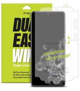 """Apsauginė ekrano plėvelė su šonų apsauga Samsung Galaxy S20 Ultra telefonui """"RIngke Dual Easy"""""""