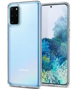 "Skaidrus dėklas Samsung Galaxy S20 Plus telefonui ""Spigen Liquid Crystal"""